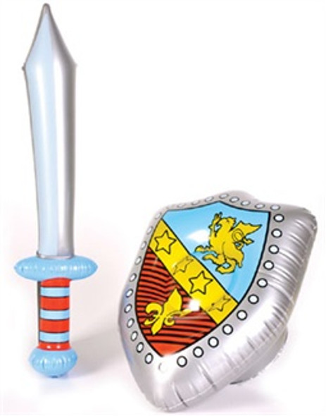 Inflatable Costume Accessory Knight Sword & Shield Set 1778
