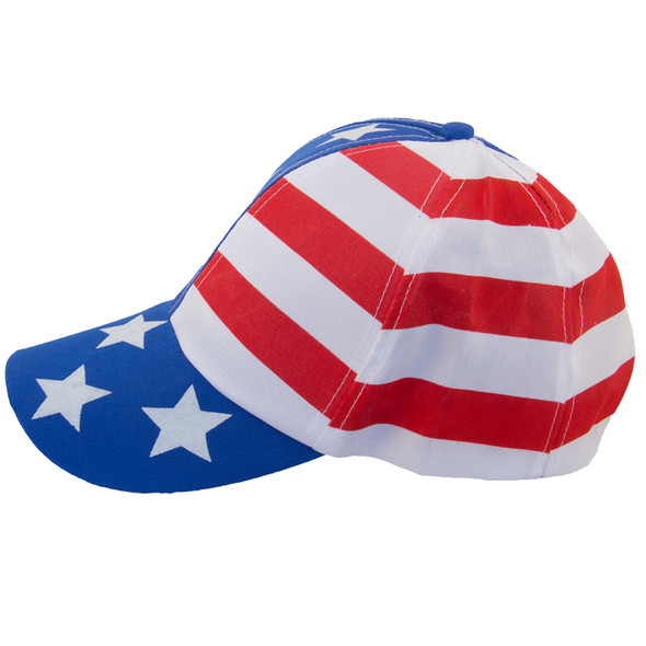 USA Flag Baseball Cap 5833