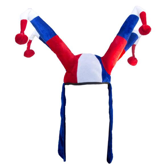 4th of July Patriotic Super Jester Hat 1489