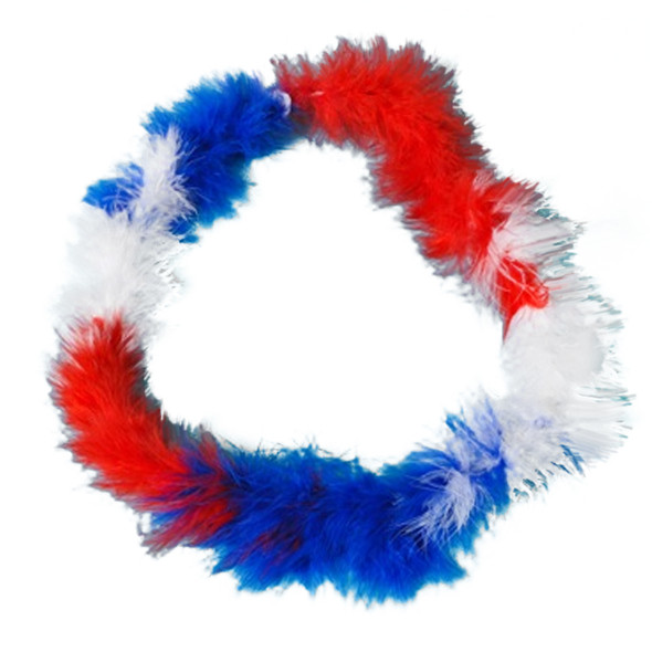 Red White and Blue Patriotic Boa 2026