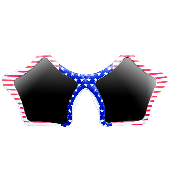 Patriotic Star Sunglasses 12 PACK 7123