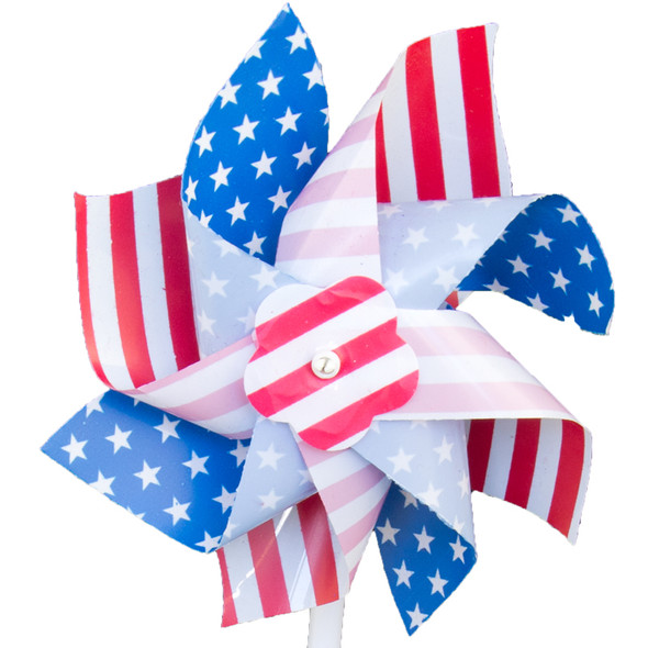 Stars and Stripes Pinwheel 9135