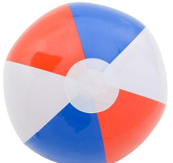 "16"" Patriotic Star Beach Ball 12 PACK  9136"