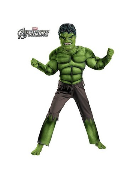 Avengers Hulk Classic Muscle Child Costume