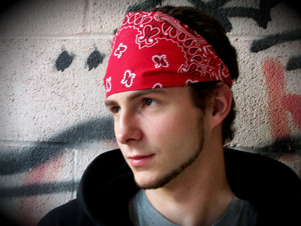 "Bulk Red Bandannas | Wholesale Red Bandannas | 22"" Square Standard 100% Cotton 12 PACK 1919D"
