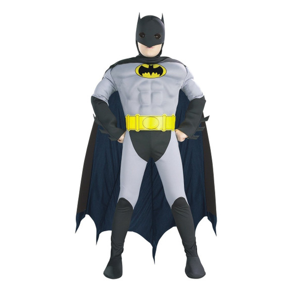 Officially Licensed Muscle Chest Batman Child Costume