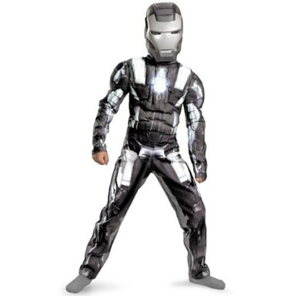 Iron Man 2 War Machine Classic Muscle Child Costume