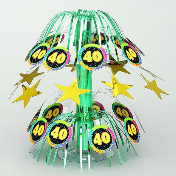 "Infinite Birthday ""40"" Centerpiece 3810"