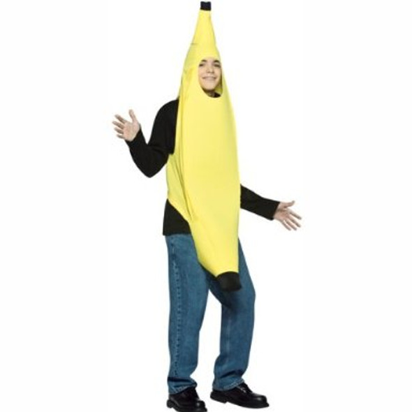 Adult Funny Banana Costume Monkeying Around