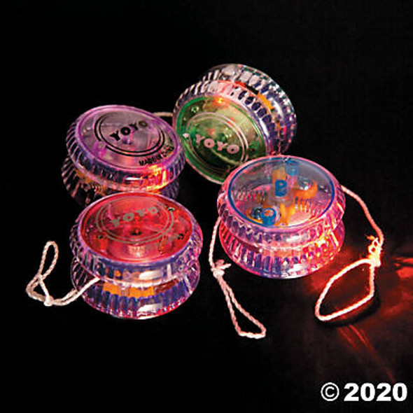 Glow in Dark Yo-Yo 12 PACK 9148A