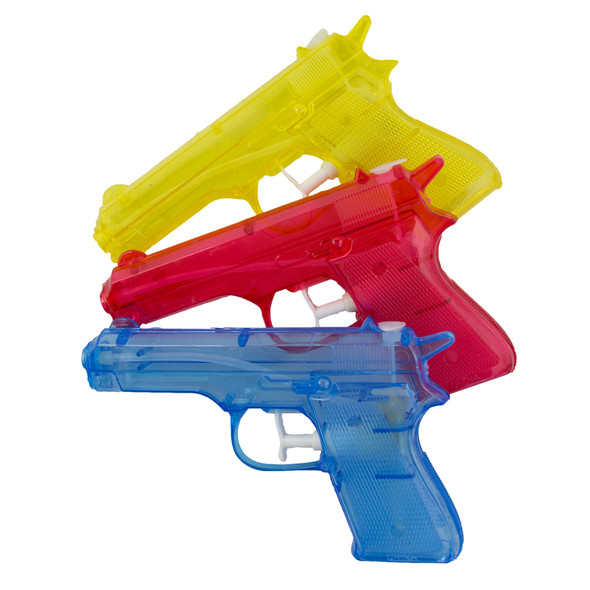 "6"" Water Guns Squirter Dozen 3380"
