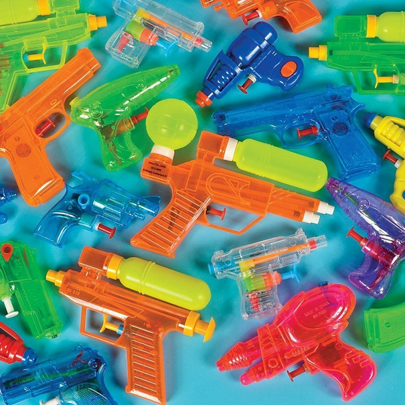 Water Gun Assortment Dozen 3387