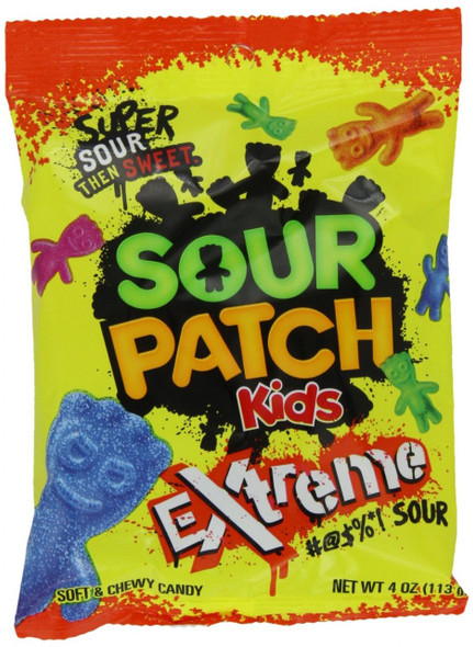 Sour Patch Kids Extreme Bulk 12 Pack 11077