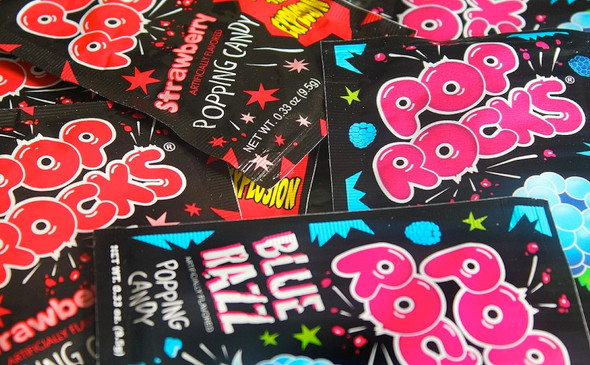 Pop Rocks Candy Bulk Mixed 12 Count 11016