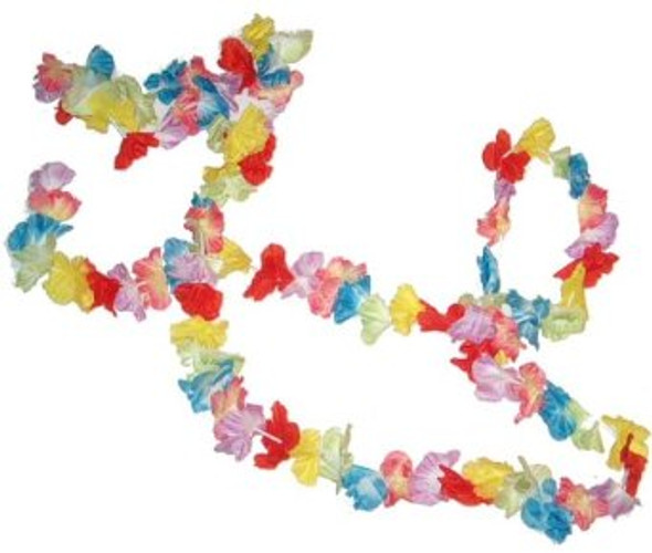 Luau Flower Garland Decoration 3833