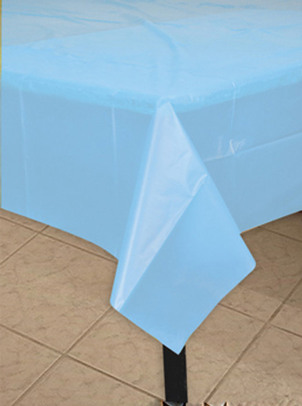 """Plastic Tablecloths Rectangle Bright Colorful 54 x 108"""" 3876-3882"""