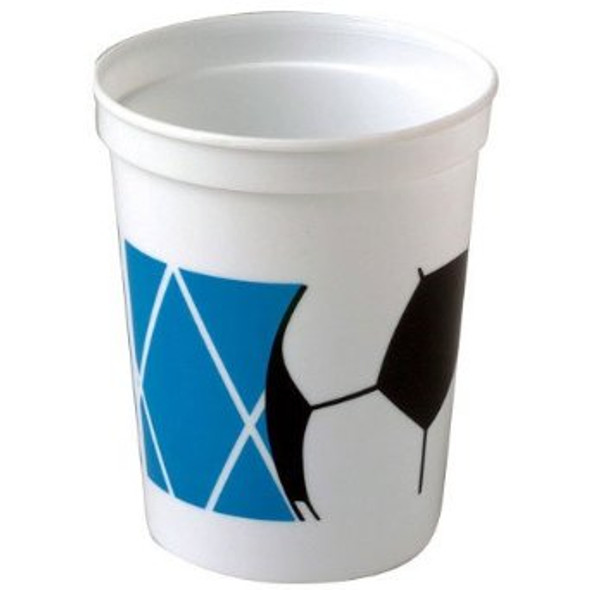 Soccer Party Plastic Cups Dozen 3845D