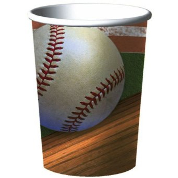 Plastic Cups Baseball Theme Party Dozen 3844D