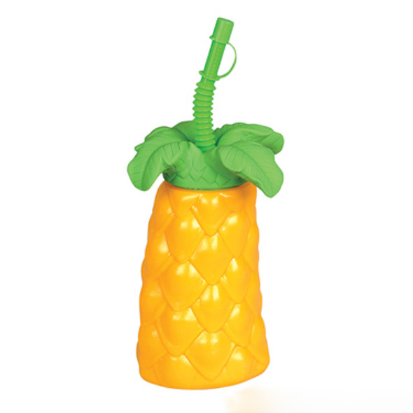 Plastic Palm Tree Cup 12 PACK 3831D