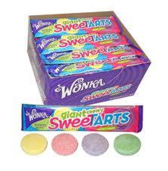 Chewy Sweetarts Giant Size Wonka Bulk 12 Count 11005