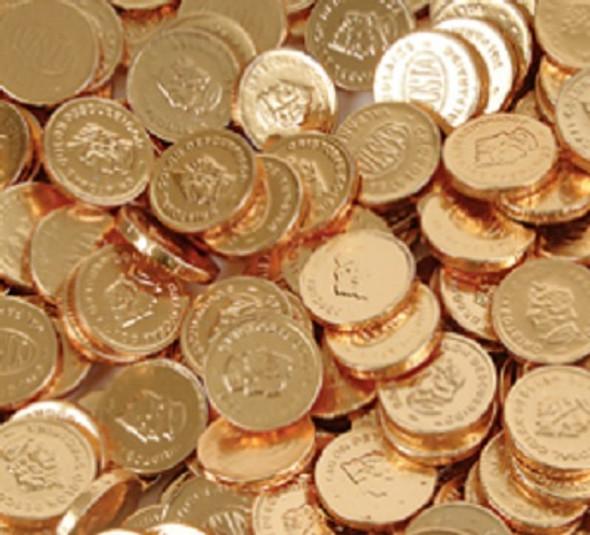 Chocolate Coins Bulk 320 Pieces Bag 11069