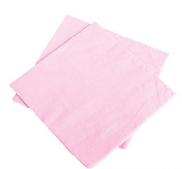 "Light Pink Party Napkins 10"" 20 Pack 3865"