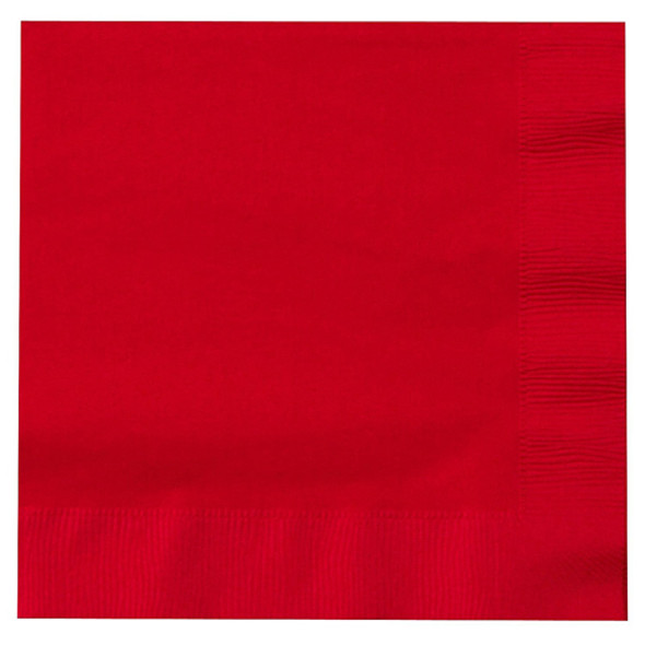 "Red Party Napkins 10"" 20 Pack 3863"