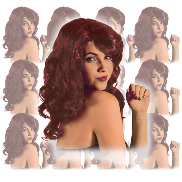 Red Lolita Wig 12 PACK 6037D