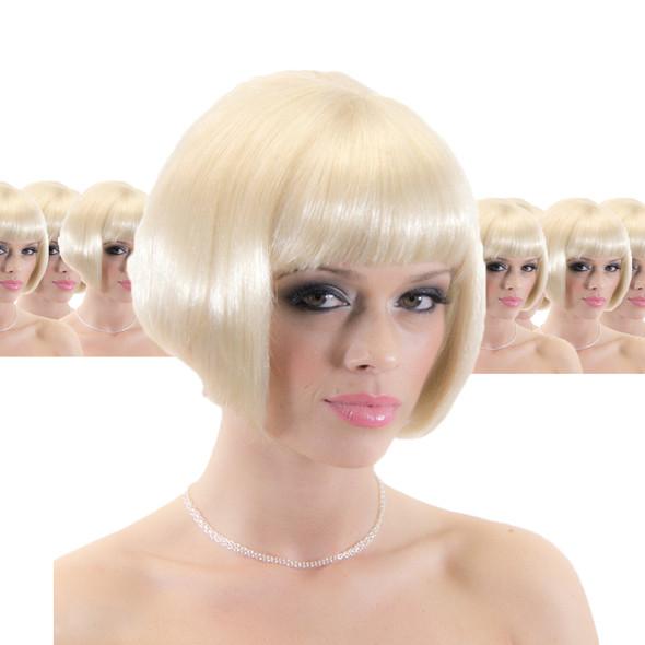 Blonde Bob Supermodel Wig 12 PACK  6043D