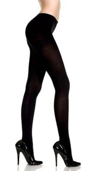 Super Control Top Black Tights Opaque Pantyhose 12 PACK 8060D