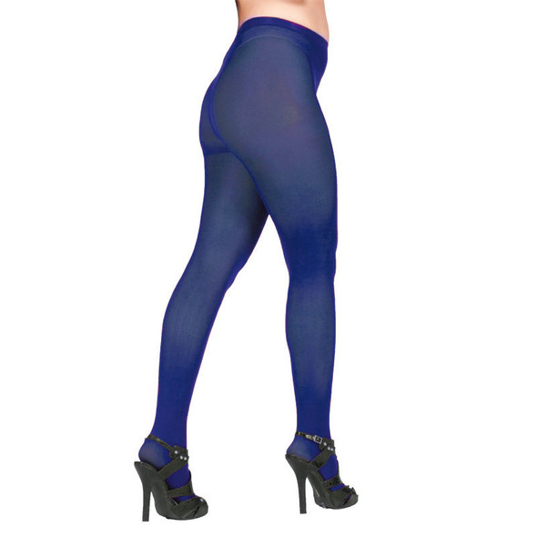Super Control Top Navy Blue Opaque Pantyhose Tights  12 PACK 8062D