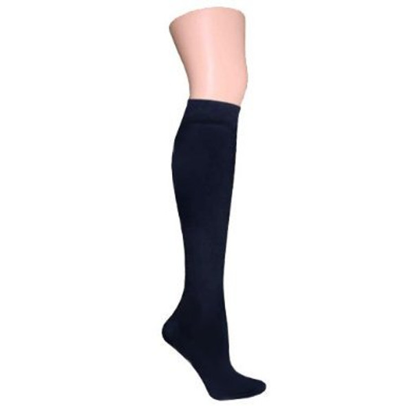 Navy Opaque Knee Highs 12 PK 8105D