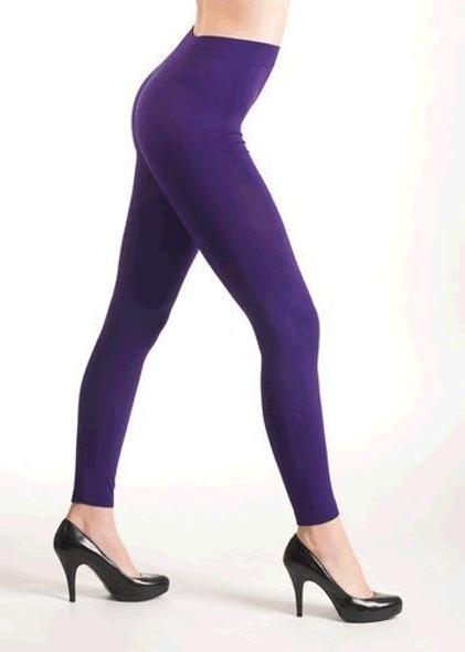 Purple Footless Tights 12PK  8098D
