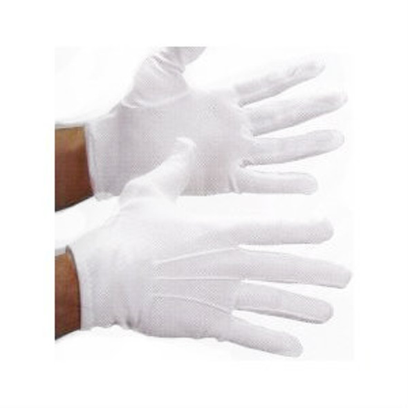 Parade Gloves White Stitched  w/ SNAPS Adult PAIR 5020-5024