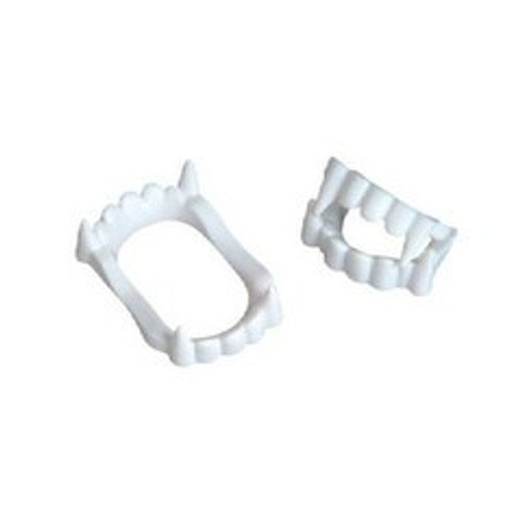 Child Vampire Fangs White 144 pc 1606C