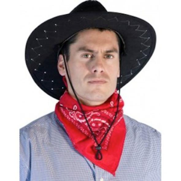 Red Cowboy Bandana