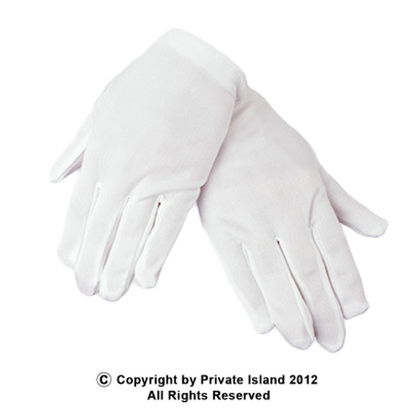 Adult White Gloves 12 PACK PAIR 5023 5032D