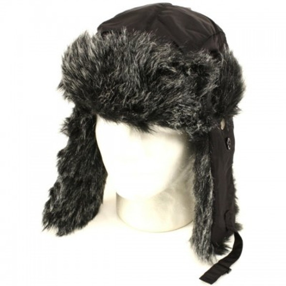 Eskimo Hats | Trapper Hats  | Gray Fur 5+ Colors 5830-5835 12 PACK