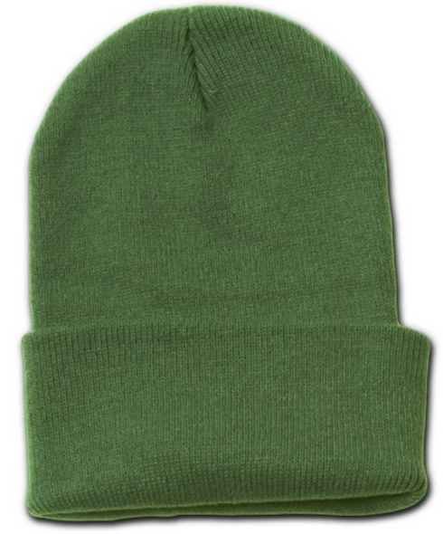 Beanie Long Hat Military Olive Drab 5767