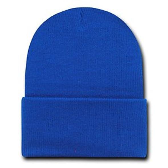 Beanie Long Hat Royal Blue 5747