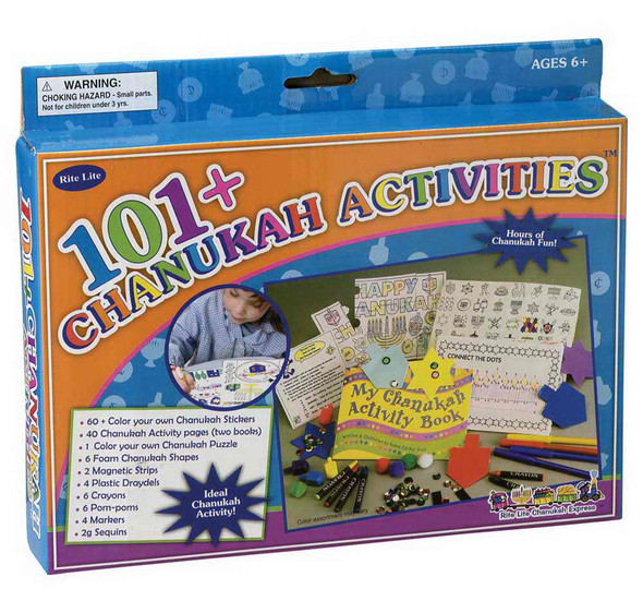 Channukah Activity Set - 101 Things To Do 9213