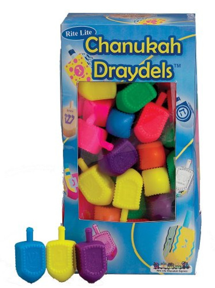 Plastic Dreidels 50 Pack 9211