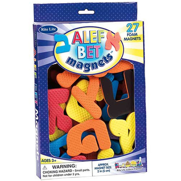 Hannukah Foam Shapes Magnets Complete Alphabet 9207