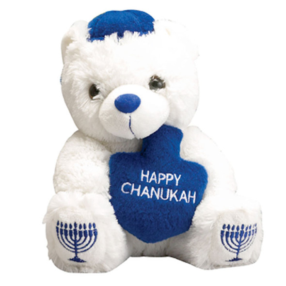 Hanukkah Plush Teddy Bear with Draydel 9204