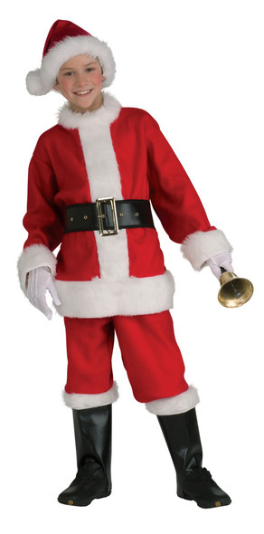 Child Santa Suit Costume Deluxe 4642