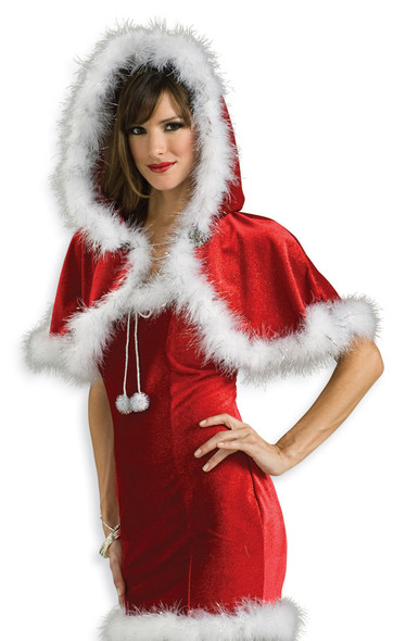 Sexy Red Christmas Capelet 4547
