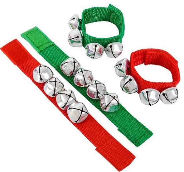 Jingle Bell Bracelets Bulk 12 PC PACK 6566D