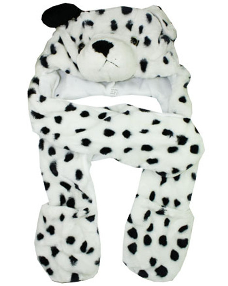 Animal Hat Dalmatian Furry Paws 5506