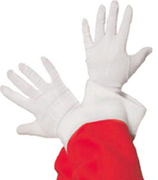 White Cotton Gloves Adult PAIR Large Size 12 PACK 5020C