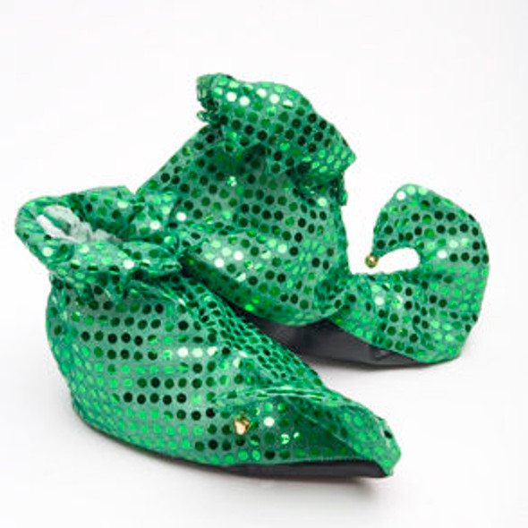 Leprechaun Shoes St Patricks Sequin 1873